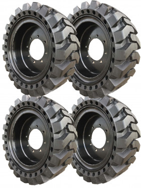 Black Traction Skidsteer Tire & Wheel Assembly for Genie GTH-5519 - Free Freight!