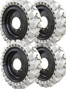 Grey Traction Skidsteer Tire & Wheel Assembly for Genie 5519 - Free Freight!
