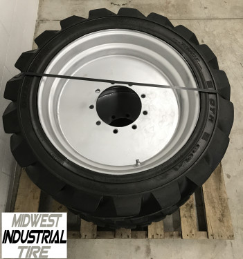 355/55D625 Reconditioned OTR Foam-Filled Tires for JLG 600A & 600AJ