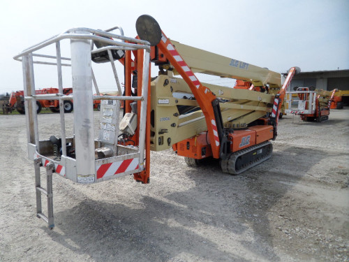 Compact Crawler Boom Lifts / Atrium Lifts For Sale