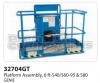 Genie Platform Assembly, 6 Ft. (S40/S60-95 & S80) - Part Number 32704
