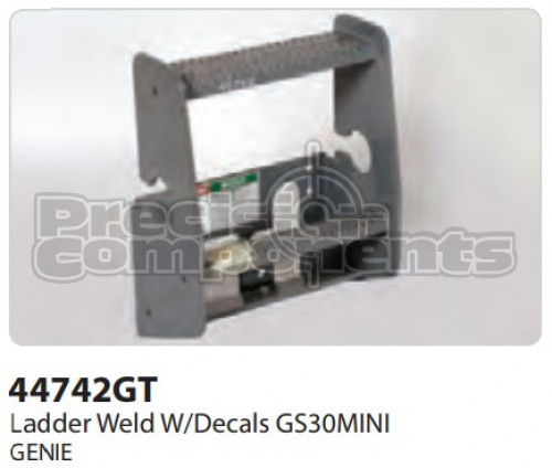 Genie Ladder Weld with Decals (GS30MINI) - Part Number 44742