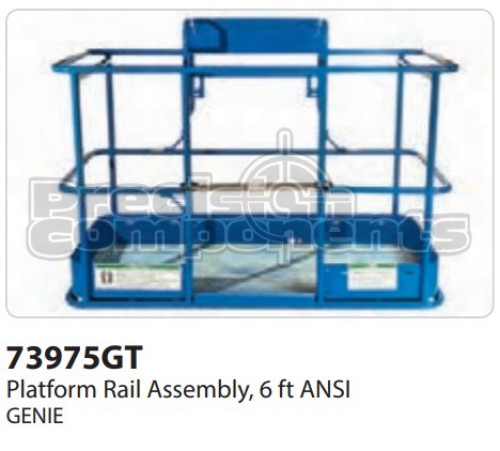 Genie Platform Rail Assembly, 6 Ft. ANSI - Part Number 73975