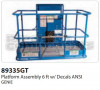 Genie Platform Assembly 6 Ft. with Decals ANSI - Part Number 89335