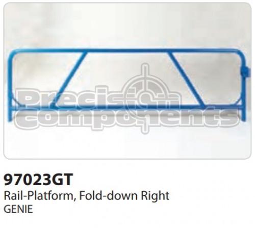 Genie Rail-Platform, Fold-down RS - Part Number 97023