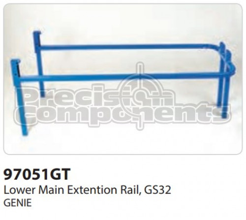 Genie Lower Main Extension Rail GS32 - Part Number 97051