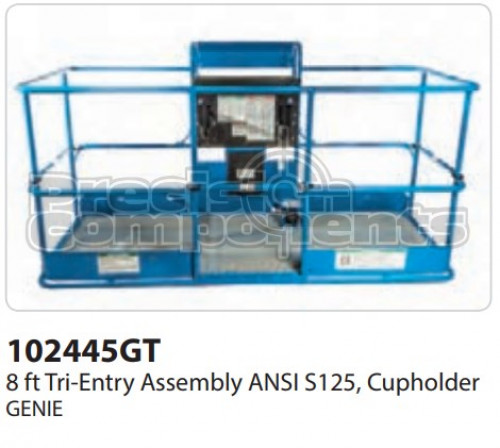 Genie 8' Tri-Entry Assembly ANSI S125 - Part Number 102445