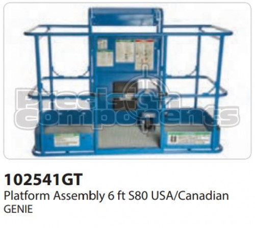 Genie Platform Assembly, 6 Ft. S80 USA/Canadian - Part Number 102541