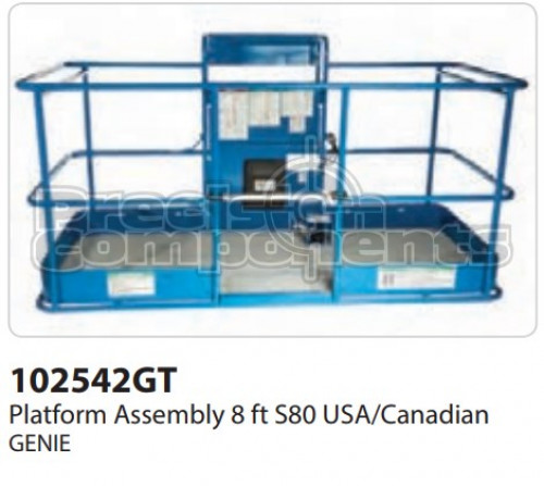 Genie Platform Assembly, 8 Ft. S80 USA/Canadian - Part Number 102542