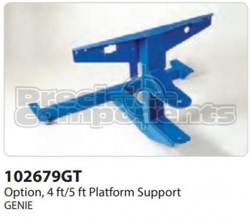 Genie Option, Platform Support, 4/5 Ft. Service - Part Number 102679