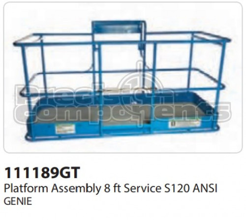 Genie Platform Assembly, 8 Ft. Service, S120 ANSI - Part Number 111189