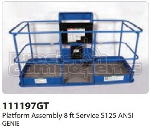 Genie Platform Assembly, 8 Ft. Service S125 ANSI - Part Number 111197
