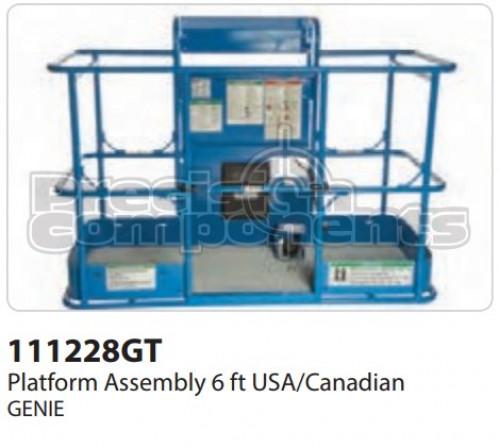 Genie Platform Assembly, 6 Ft. S80 USA/Canadian - Part Number 111228