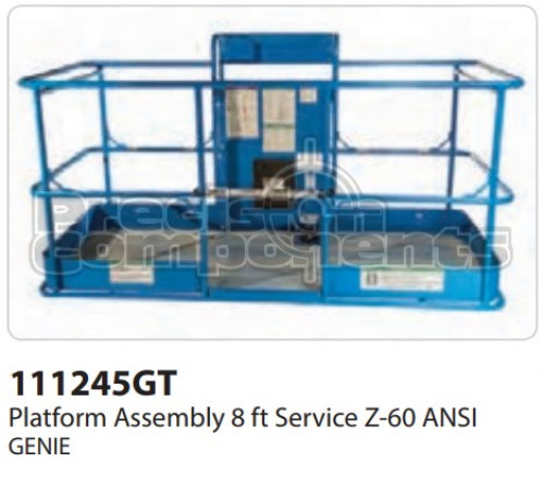 Genie Platform Assembly, 8 Ft. Service Z-60 ANSI - Part Number 111245