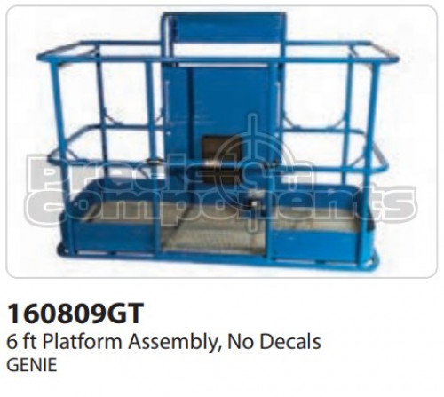 Genie Assembly, 6 Ft. Platform, No Decals - Part Number 160809