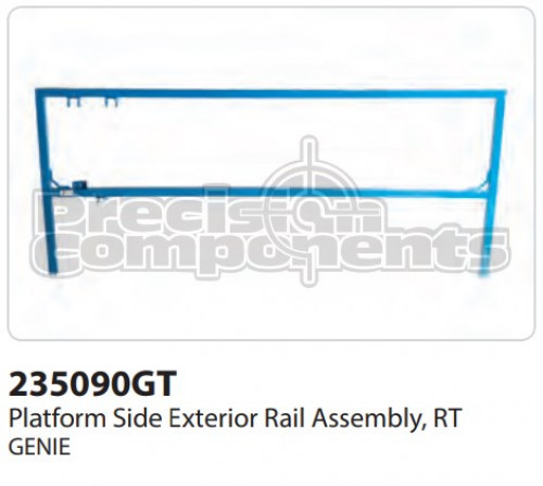 Genie Platform Side Extension Rail Assembly, RT - Part Number 235090