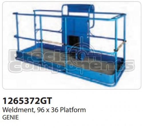 Genie Weldment, (96 x 36) Platform - Part Number 1265372
