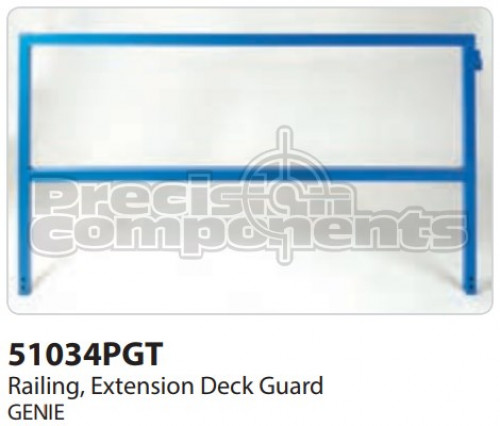 Genie Railing, Extension Deck Ground Control 68 - Part Number 51034P