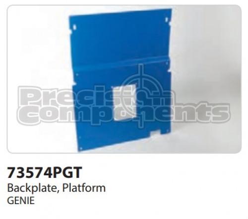 Genie Backplate, Platform - Part Number 73574P