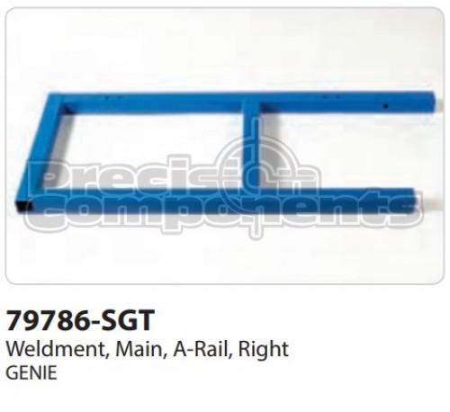 Genie Weldment, Main, A-Rail Right - Part Number 79786-S