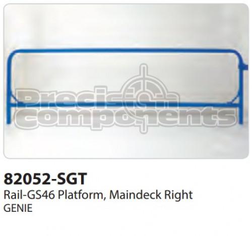 Genie Rail-GS46 Plat, Maindeck RT - Part Number 82052-S