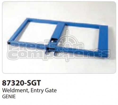 Genie Weldment, Entry Gate - Part Number 87320-S