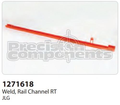 JLG Channel, Rail Weldment RT - Part Number 1271618