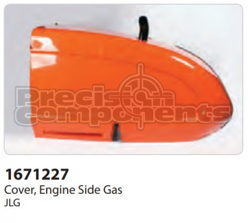 JLG Cover, Engine Side (Ford) 600S - Part Number 1671227