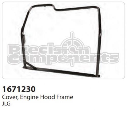 JLG Cover, Engine Hood Frame - Part Number 1671230