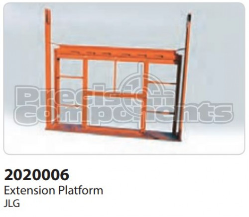 JLG Extension, Weldment - Part Number 2020006