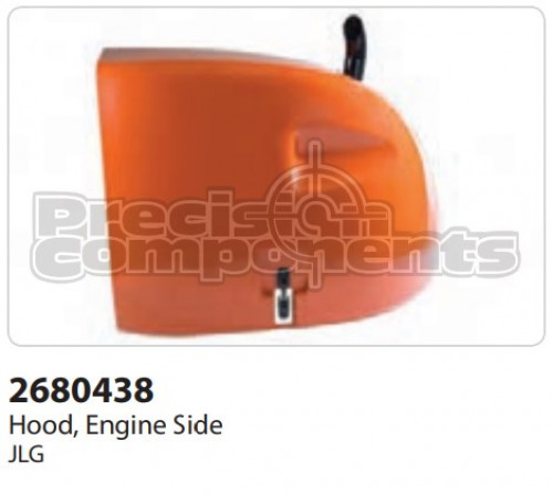 JLG Hood, Engine Side - Part Number 2680438