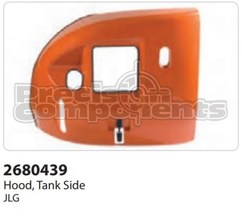 JLG Hood, Tank Side - Part Number 2680439
