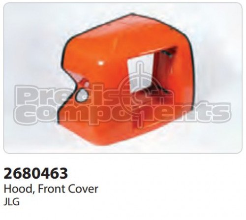 JLG Hood, Front Cover 400S - Part Number 2680463