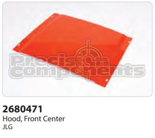 JLG Hood, Front Center 400S - Part Number 2680471