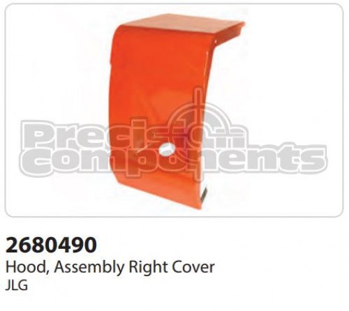 JLG Hood Assembly, Right Cover - Part Number 2680490