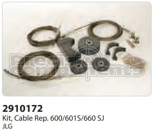 JLG Kit, Cable Replacement 600/601S/660SJ - Part Number 2910172