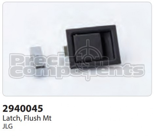 JLG Latch, Flush Mount - Part Number 2940045