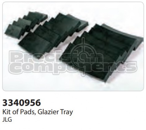 JLG Kit of Pads, Glazier Tray - Part Number 3340956