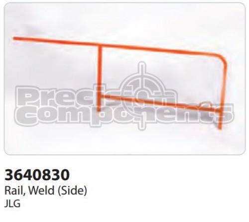 JLG Rail, Weldment (Side) - Part Number 3640830
