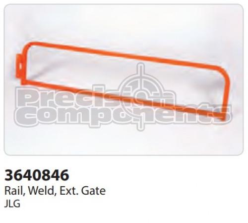 JLG Rail, Weldment, Extension Gate - Part Number 3640846