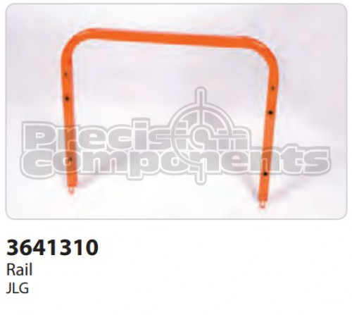 JLG Rail, Weldment Rear Entry - Part Number 3641310