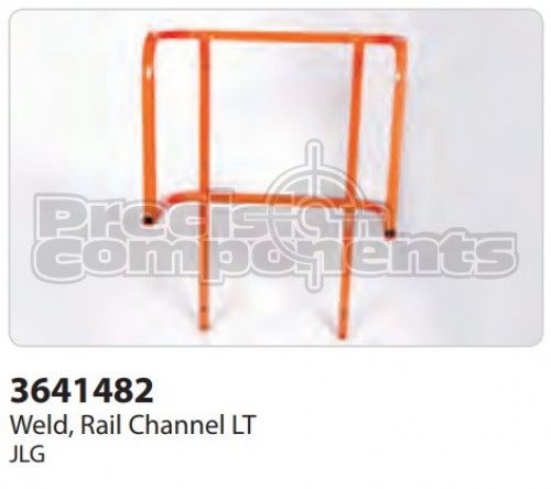 JLG Rail, Weldment Extension Platform - Part Number 3641482
