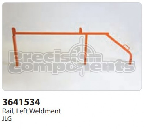 JLG Rail, Left Weldment - Part Number 3641534