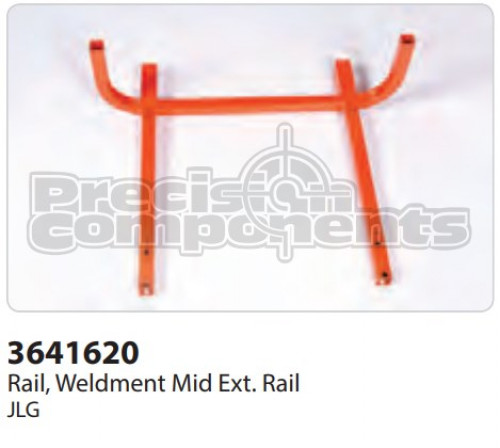 JLG Rail, Weldment Mid Extension Rail - Part Number 3641620