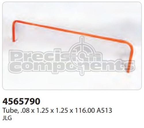 JLG Tube, (.08 x 1.25 x 1.25 x 116.00) A513 - Part Number 4565790
