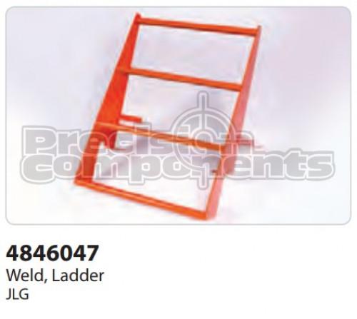 JLG Weldment, Ladder - Part Number 4846047