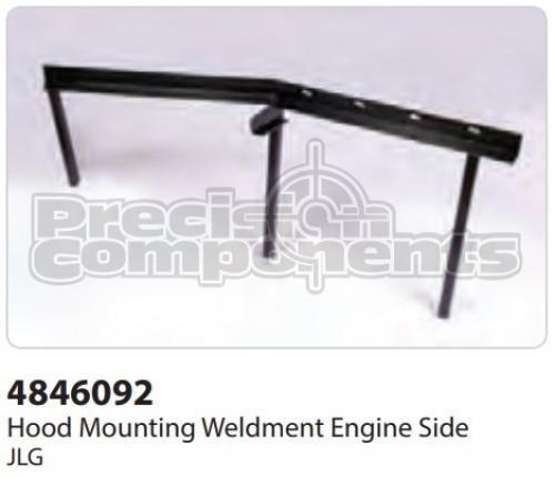 JLG Weldment, Hood Mount Engine Side - Part Number 4846092