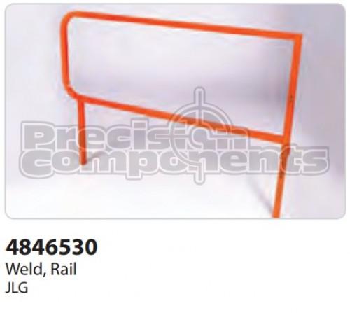 JLG Weldment, 1200SJP Hose Support Tray - Part Number 4846516