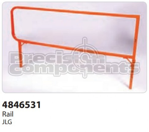JLG Weldment, Rail - Part Number 4846531