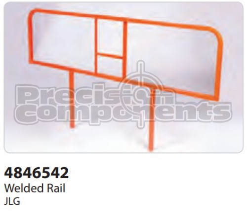 JLG Weldment, Rail - Part Number 4846542